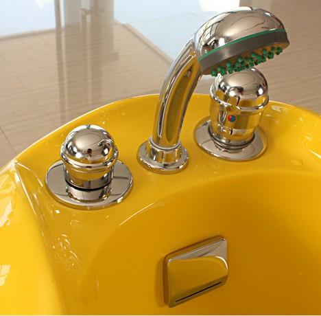 小黃鴨兒童溫水按摩SPA缸6